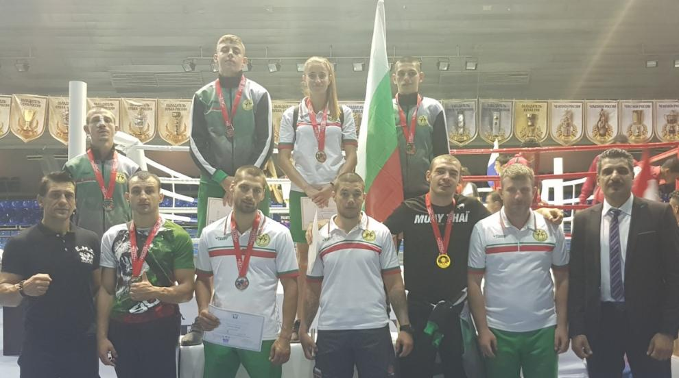 7 медала за националите ни от Европейското по муай тай