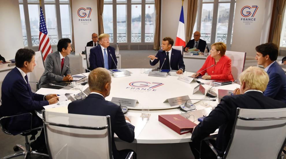Г-7 ще помага в битката срещу огнената стихия в Амазония