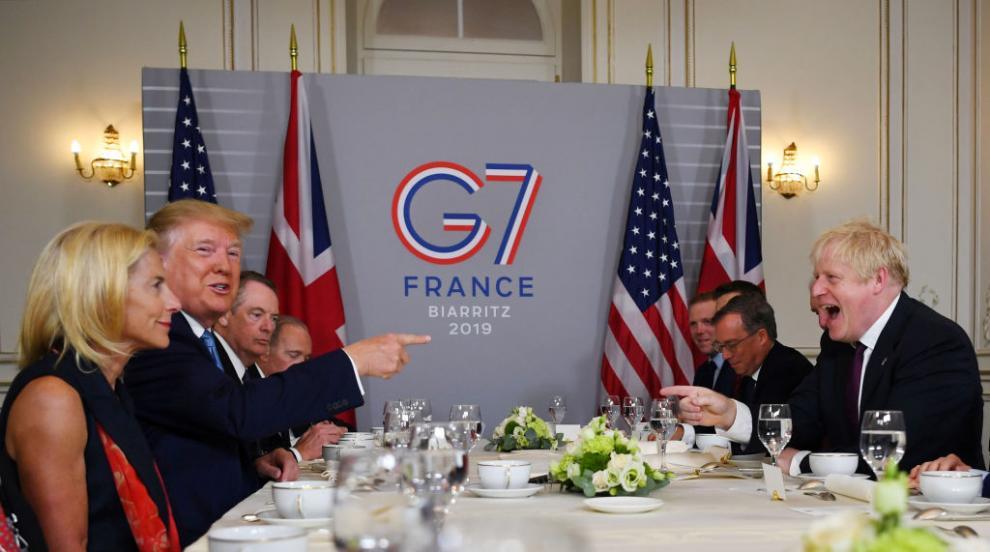 В кулоарите на Г-7: Какво обсъдиха лидерите днес (СНИМКИ)