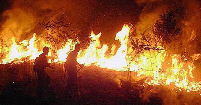 България Червен код за пожари, бедствено положение в няколко региона
