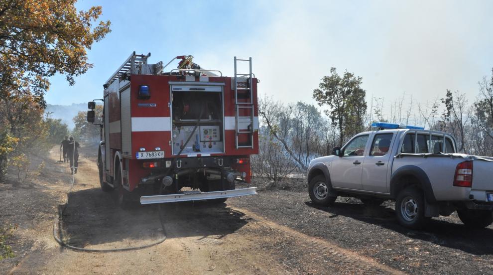 Отпускат 400 000 лв. за обезщетение на пострадалите от пожарите земеделци в Хасково