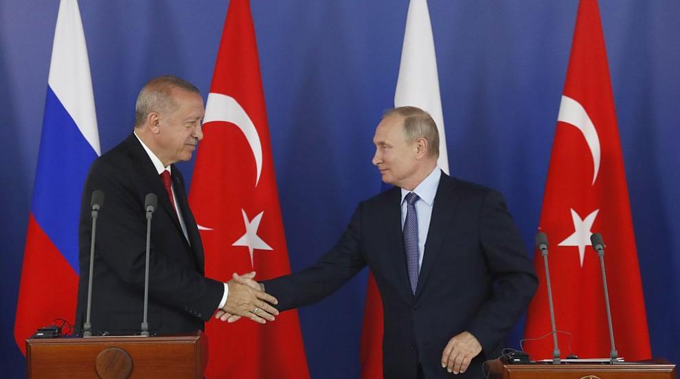 Путин покани Ердоган в Русия