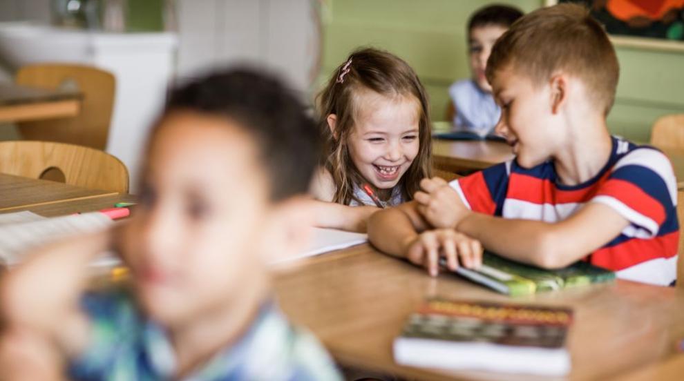 60 000 деца престъпват прага на класната стая за пръв път