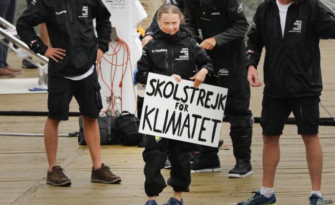 """Грета Тунберг: """"Доналд Тръмп трябва да се вслуша в науката"""""""