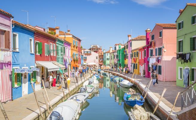 Вижте най-цветните улици в Европа