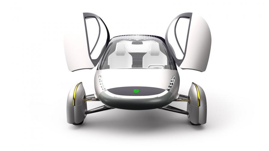 <p>Представиха електромобил с пробег 1600 км</p>