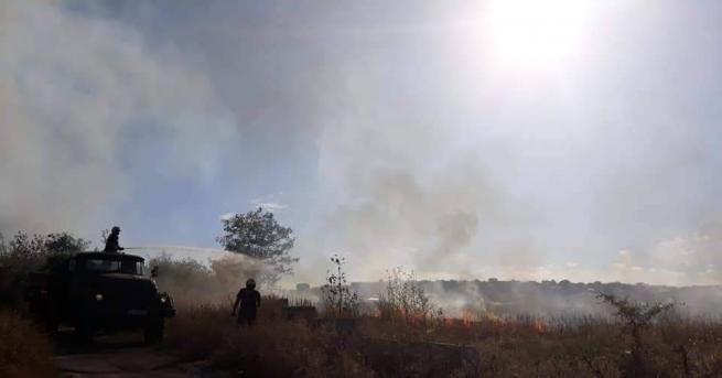 Снимка: Децата от Дома за медико-социални грижи в Стара Загора са в безопасност след пожар в района