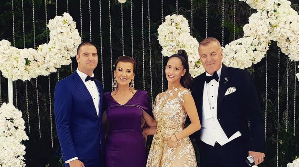 Дъщерята на Илиана Раева се венча за любимия си Георги (СНИМКИ)