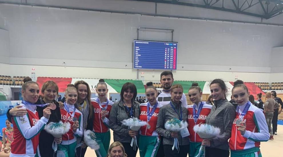 Златен медал за ансамбъла от Световната купа в Казан (СНИМКИ/ВИДЕО)