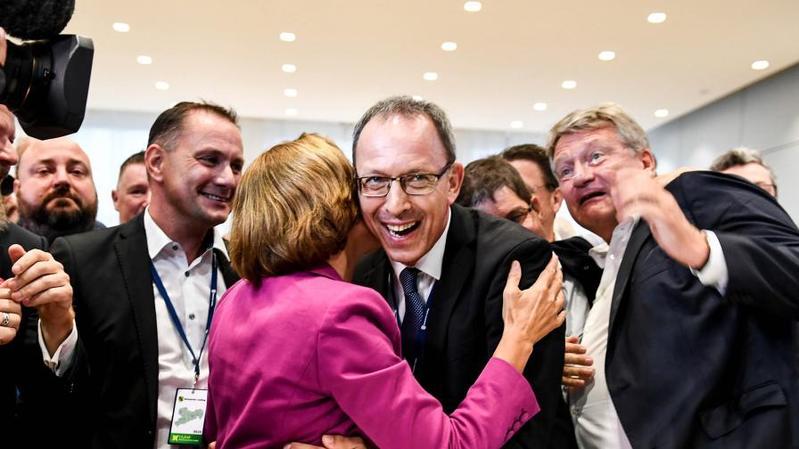 <p>&bdquo;Алтернатива за Германия&rdquo;: Наказахме Меркел</p>