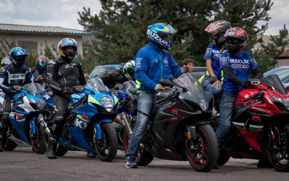 Близо 500 мотоциклета се събраха в Боровец за втората Suzuki GSX-R фен среща