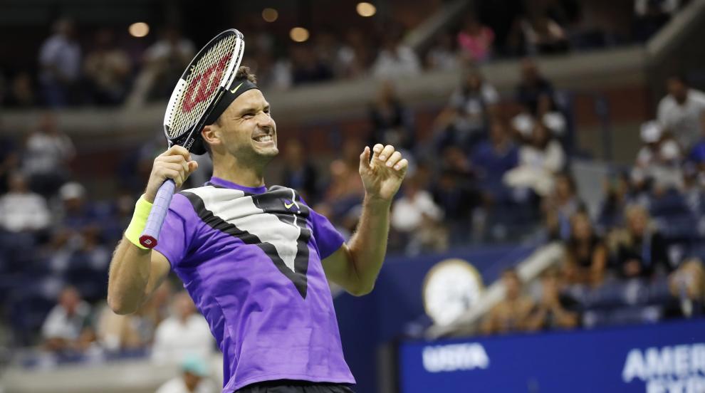 Гришо надви Федерер на US Open (СНИМКИ)