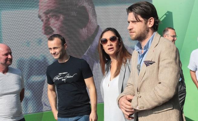 Марияна Попова и Веселин Плачков