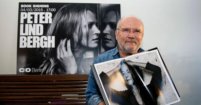 Немският моден фотограф Петер Линдберг, известен с ефектните си черно-бели