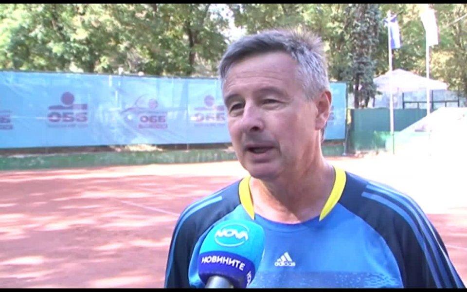Българският тенисист и тенис-коментатор Юлиан Стаматов изрази мнението си след