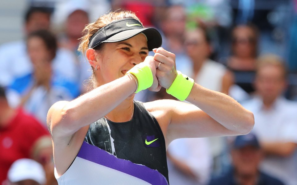Белинда Бенчич се класира за полуфиналите на Откритото първенство по