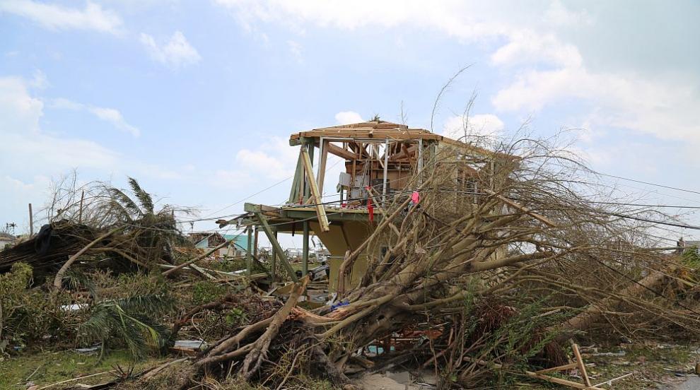Ураганът Дориан – ядрена бомба над Бахамите