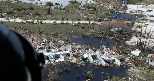 Бахамски официални представители заявиха, че 2500 души са в неизвестност