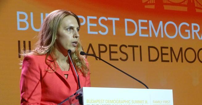 Заместник министър-председателят по икономическата и демографската политика Марияна Николова взе
