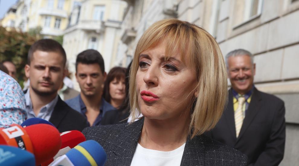 Националният съвет на БСП утвърди кандидатурата на Мая Манолова