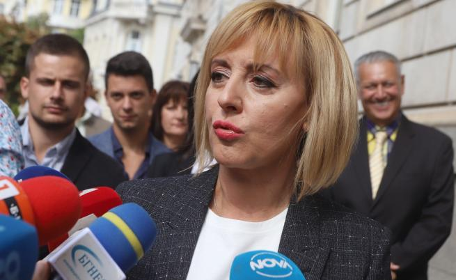 Мая Манолова няма да приема дарения от корпорации и фирми