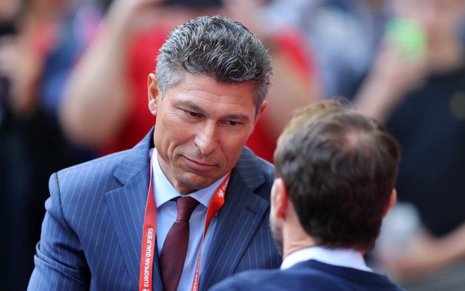 Националният селекционер на България Красимир Балъков потвърди, че ще даде