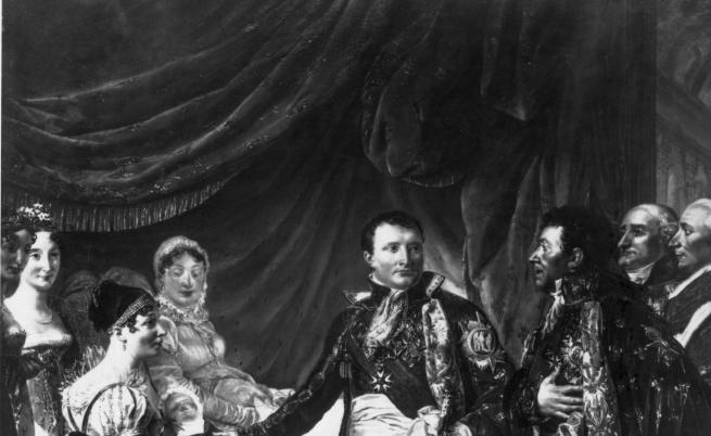 Император Наполеон I и втората му съпруга Мария-Луиза