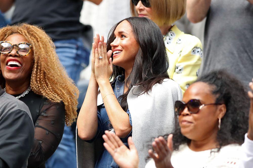 Херцогинята на Съсекс Меган подкрепи приятелката си Серина Уилямс на финала при жените на US Open