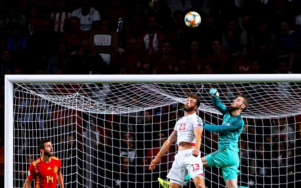 Испания крачи уверено към Евро 2020