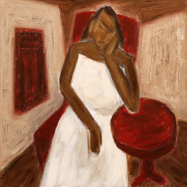 <p>Жена в бяло</p>