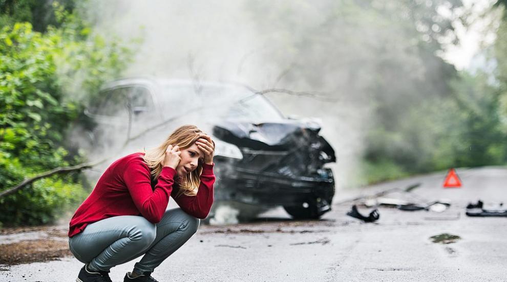 Катастрофа на пътя София-Варна, двама са в болница