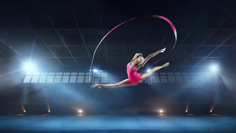 <p>Световното първенство по художествена гимнастика на живо в ефира</p>
