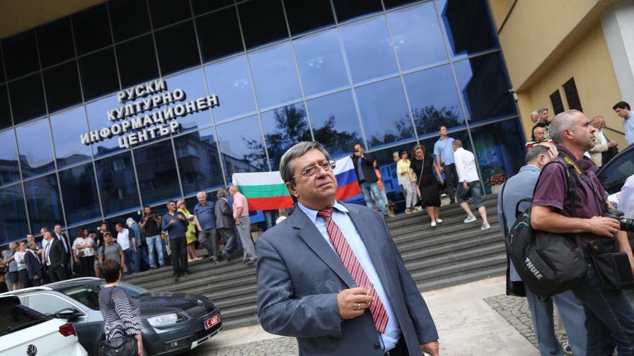 <p>Посланик Макаров: Не се месим в България</p>