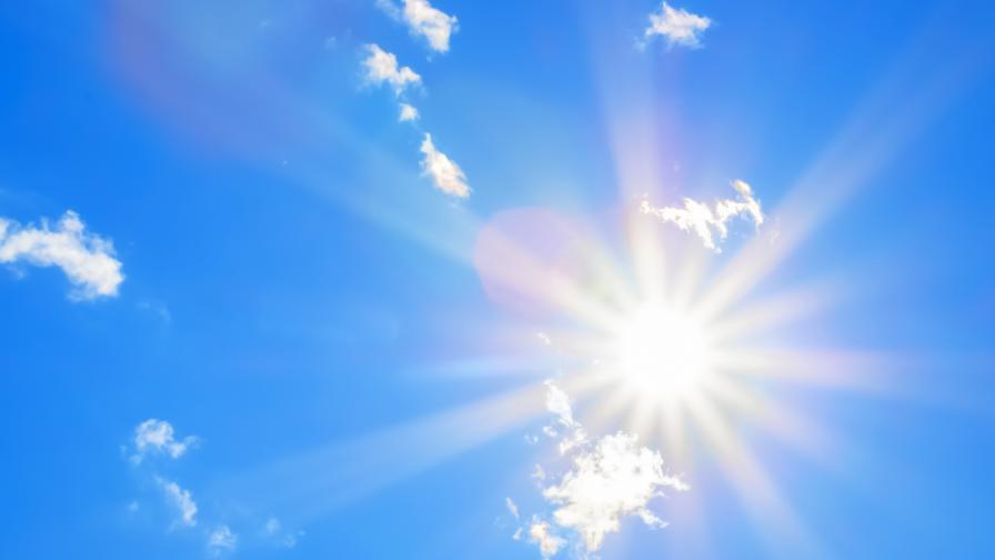 Слънчево време и днес, затоплянето продължава