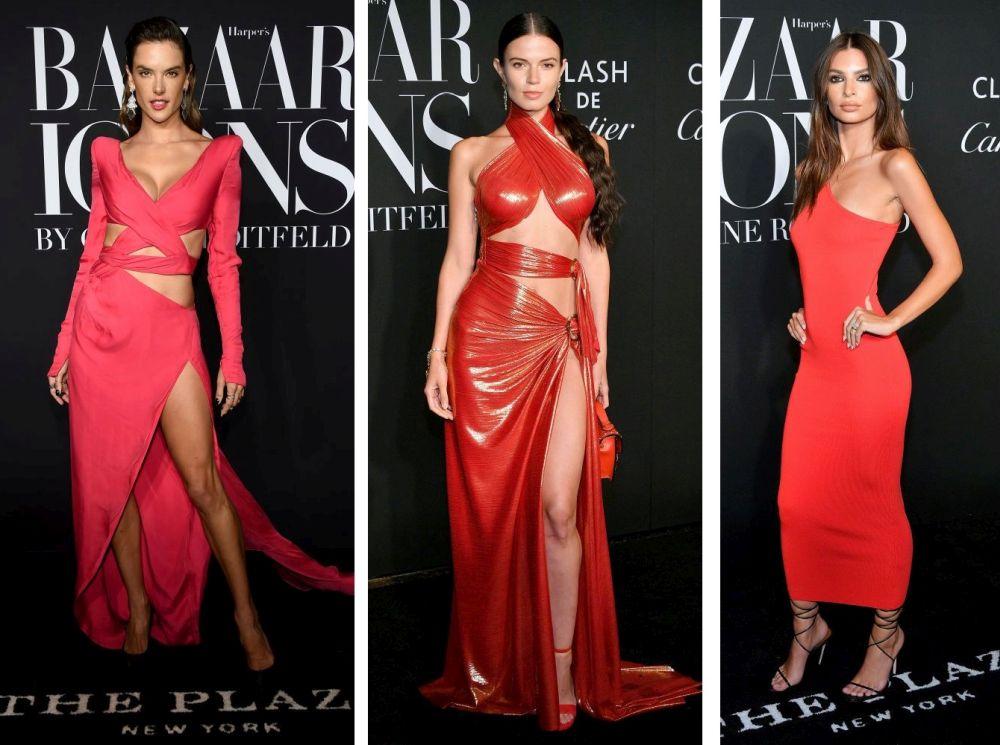 """Модели, актриси, изпълнители и всякакви модни любители присъстваха на събитието на едно от най-големите светски издания - Harper's Bazaar. Червеният килим на """"Harper's Bazaar Icons"""" събра модния елит, а ние събрахме най-горещите снимки, за да им се насладите"""