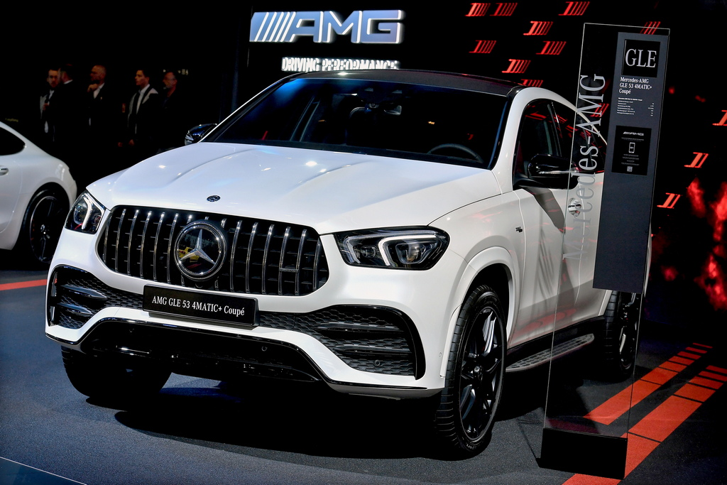 <p>Mercedes-Benz AMG GLE 53 4MATIC+ Coupe</p>