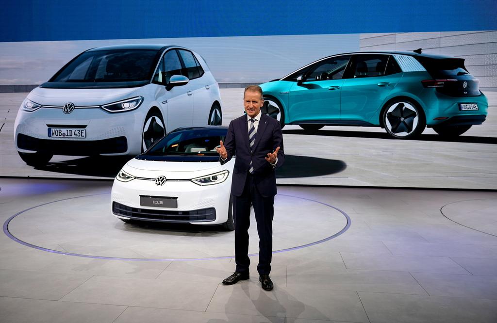 <p>Volkswagen ID.3 electric</p>