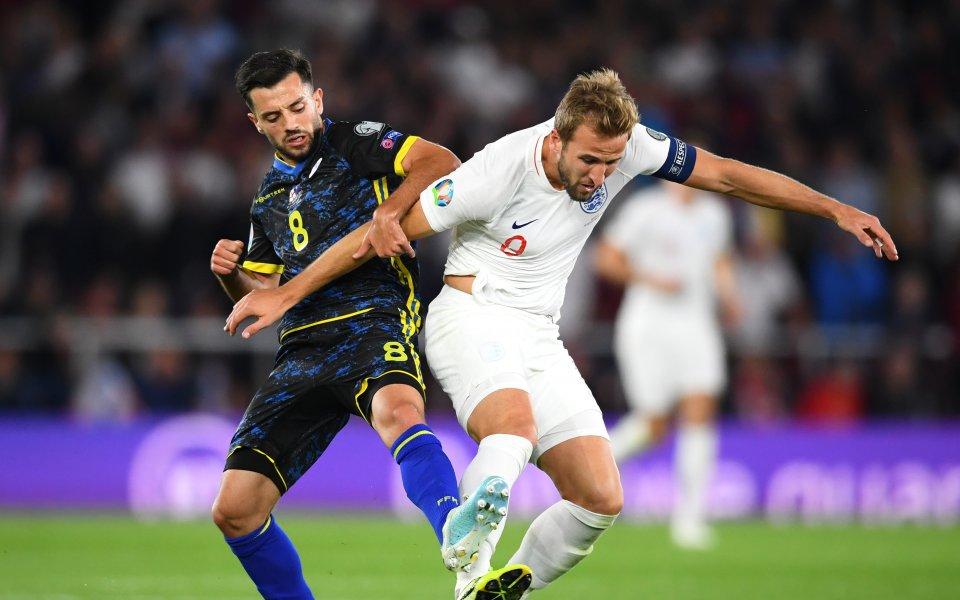 С три промени от мача с Косово излиза Англия срещу
