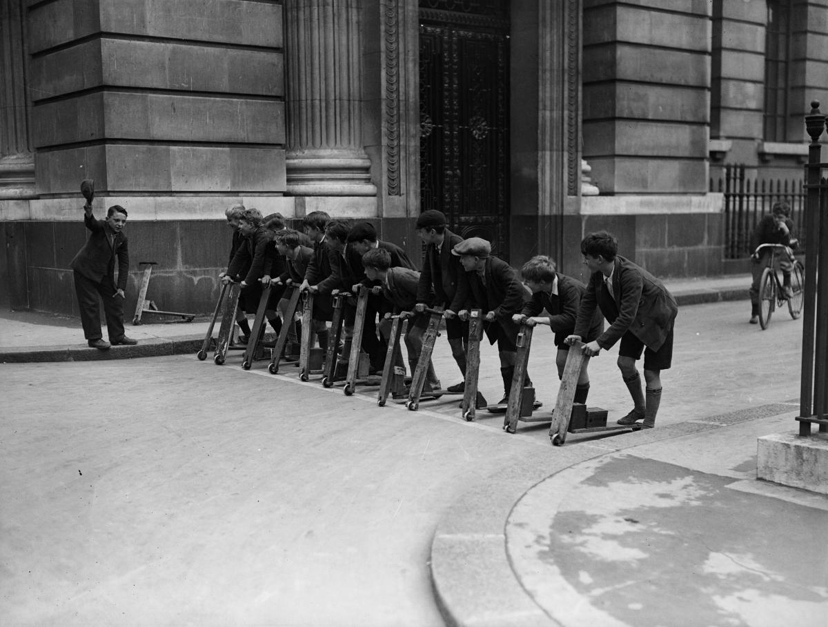<p>Състезание в Лондон, 1932 година.</p>