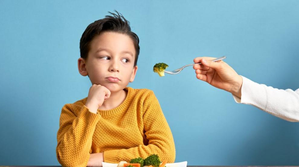 Предлагайте на децата по три зеленчука едновременно