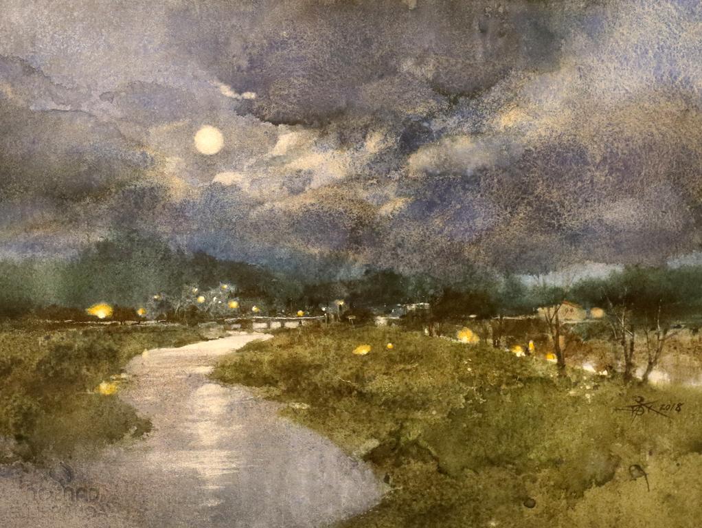 <p>&quot;Лунна река&quot; от Чиен Чун-Вей, Тайван.</p>