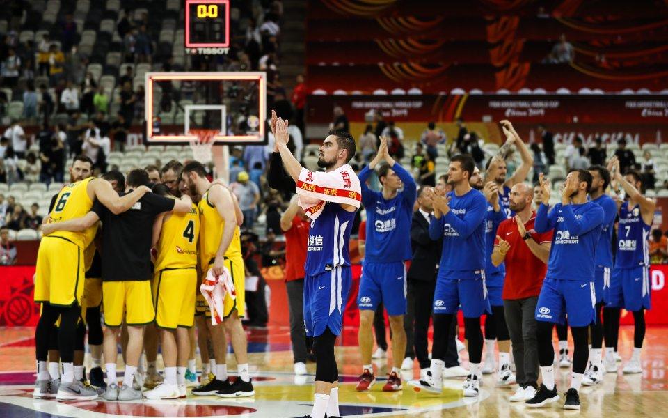 Австралия се класира за полуфиналите на Световното първенство по баскетбол