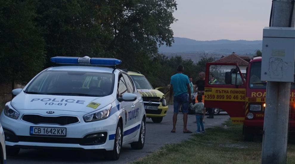 Моторист загина при пътен инцидент край Кюстендил