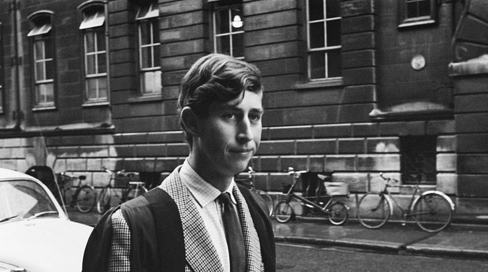 И принц Чарлз някога е ходил на училище (СНИМКИ)