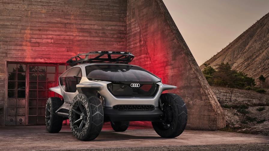 <p>Audi замени фаровете с дронове</p>