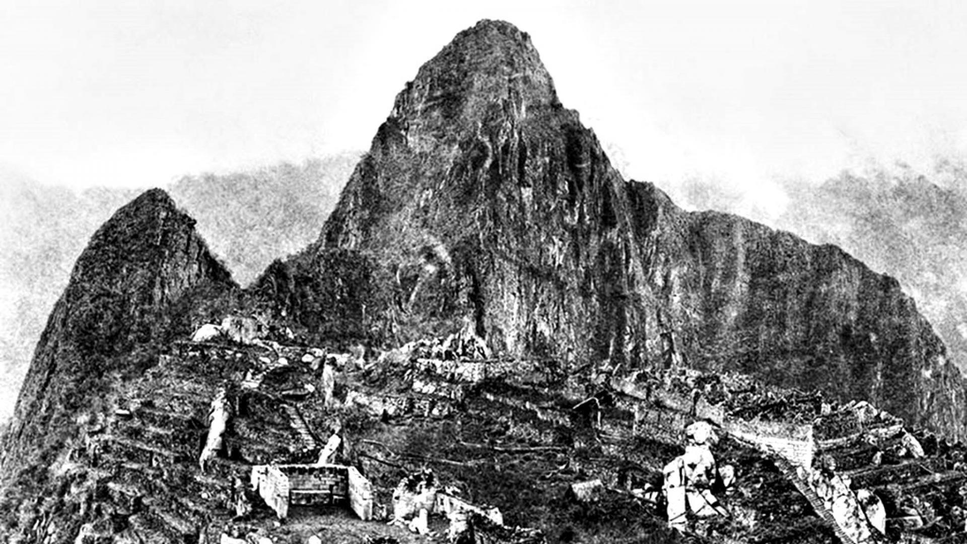 1911: Първи снимки след откриването на Мачу Пикчу