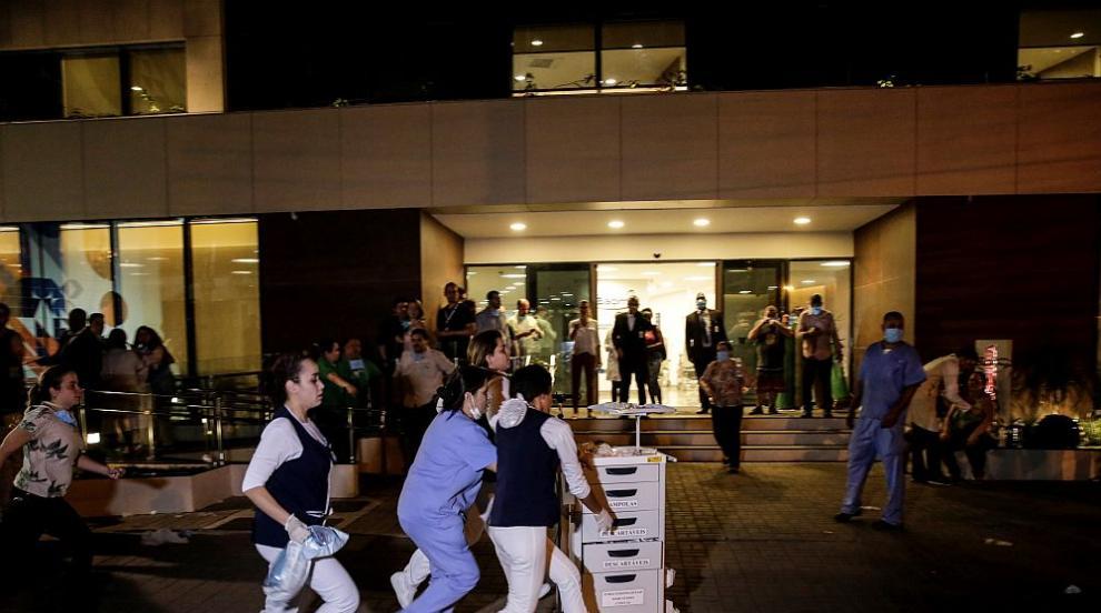 Пожар в болница в Рио де Жанейро, най-малко 10 души загинаха (СНИМКИ)