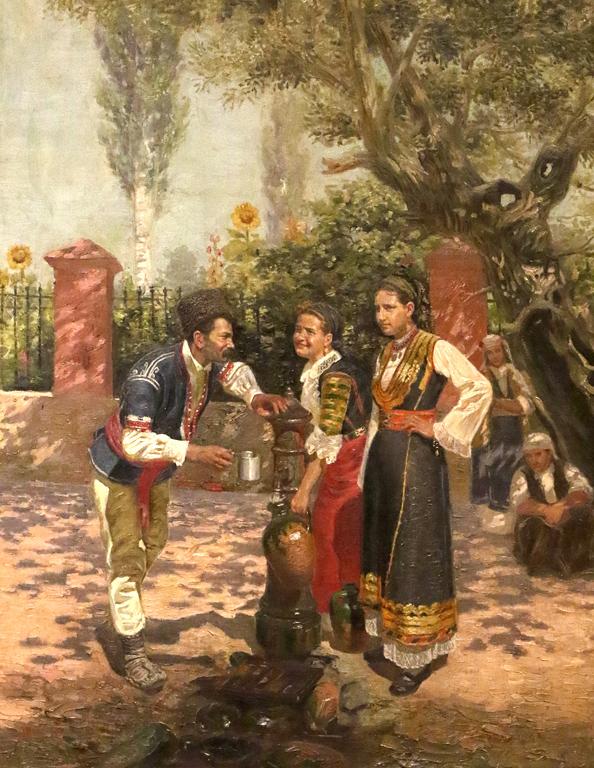 <p>Антон Митов - На чешмата, 1899г.</p>