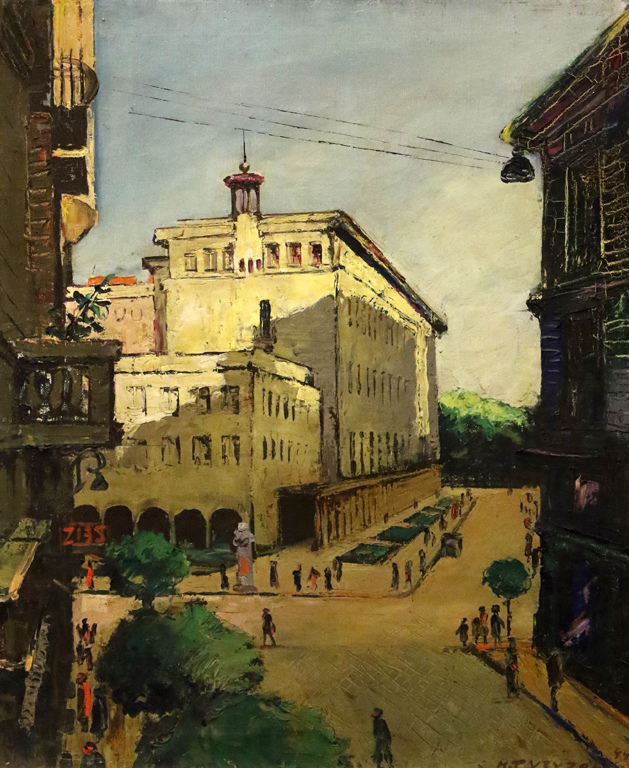 <p>Никола Тузсузов - Народната банка в София, 1940</p>