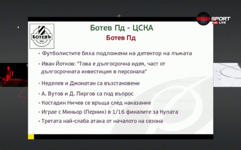 ЦСКА ще търси победа на Коматево след повече от 2